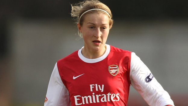 Arsenal's Ellen White