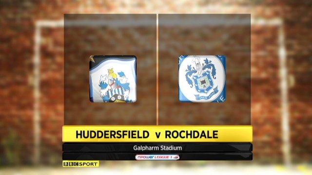 Huddersfield 2-2 Rochdale