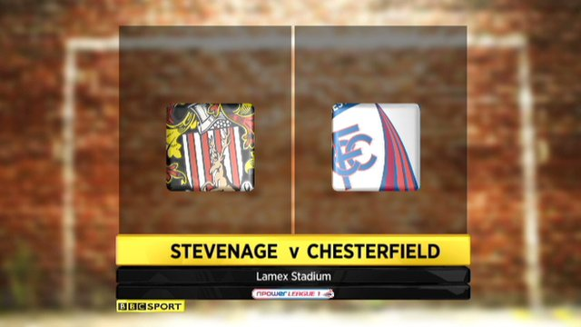 Stevenage 2-2 Chesterfield