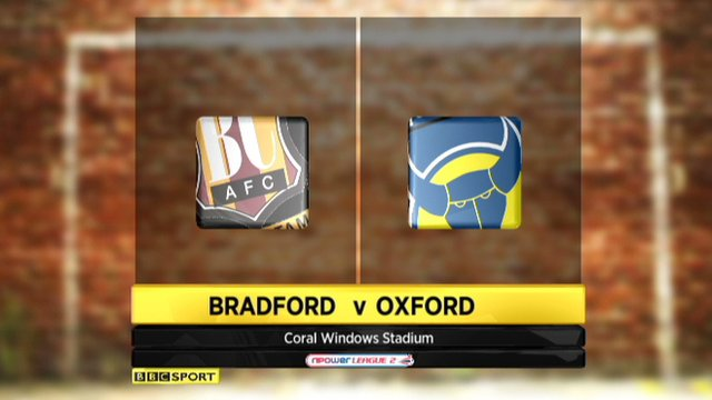 Bradford 2-1 Oxford Utd