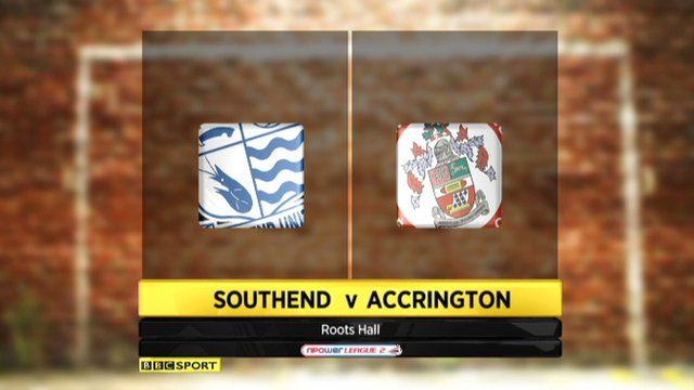 Southend 2-2 Accrington