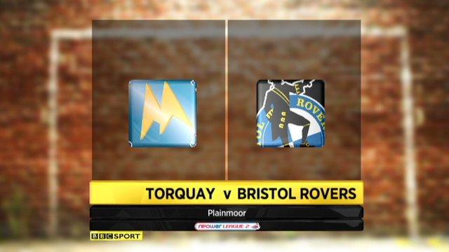 Torquay 2-2 Bristol Rovers