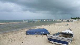 A beach in Mannar
