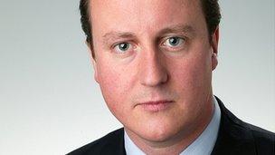 David Cameron in 2004
