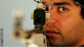 Abhinav Bindra, India's Olympic shooting champion