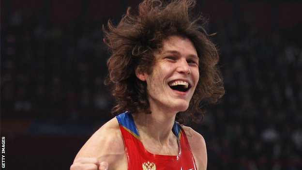 Ivan Ukhov at the European Indoor Championships in Paris