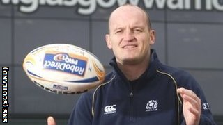 Gregor Townsend will move to Glasgow at the end of the season