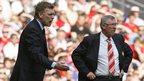 David Moyes and Sir Alex Ferguson