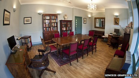 Brooke House Sixth Form College &quot;Oxford style&quot; study room
