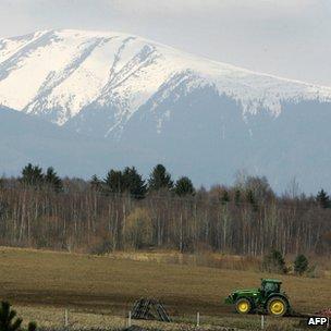 Farm in Slovakia - file pic