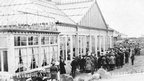 The Floral Hall during WWI. Photo: Hornsea Museum.