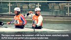 Men&#039;s C2 slalom canoeists Tim Baillie [L] and Etienne Stott. Copyright: Royal College of Surgeons