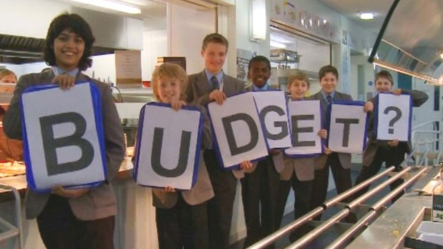 Newcastle School for Boys explore the budget