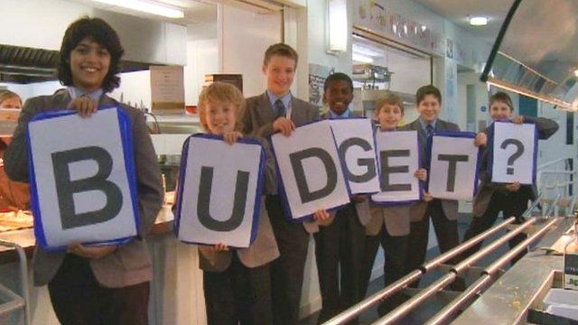 Newcastle School for Boys explore the budget