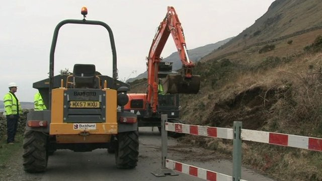 Work has begun on laying the new cables that will re-connect Wasdale to the grid