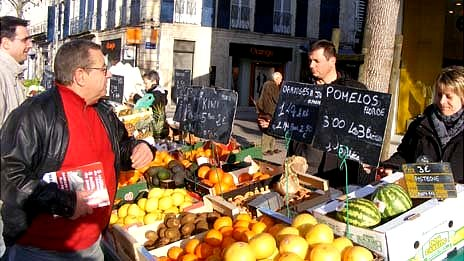 Market in Rochefort