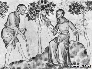 Engraving circa 800 AD