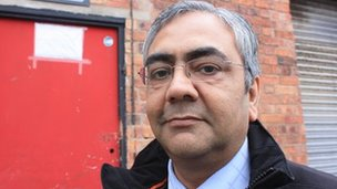 Govind Mandora, health and safety team manager for Leicester City Council