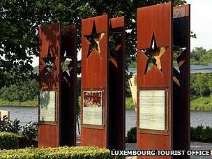 Schengen steel memorial