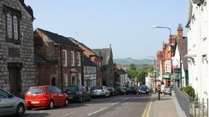St Asaph High Street