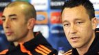 Roberto di Matteo (left) and John Terry (right)