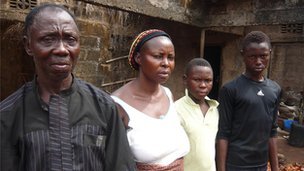 Pastor Oliver Lekwam and his family