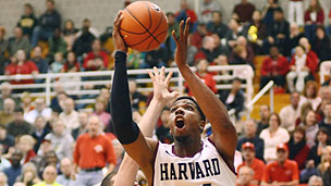 Harvard basketball game
