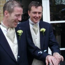 Bernard O'Reilly (left) and Nick Lansley
