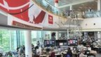 BBC newsroom