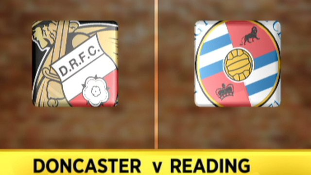 Doncaster 1-1 Reading
