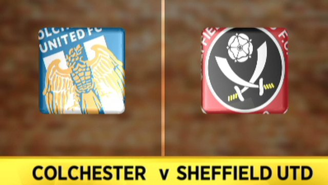 Colchester 1-1 Sheffield United