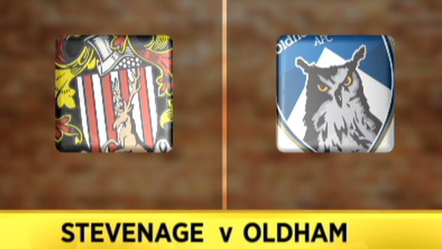 Stevenage 1-0 Oldham