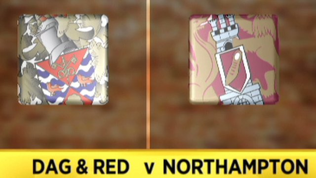 Dag and Red 0-1 Northampton