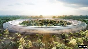 Apple&#039;s Campus 2 building