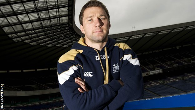 Scotland scrum-half Chris Cusiter