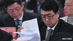 File photo of Wang Lijun, 7 January 2012