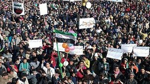 Anti-government protests in Idlib - February 2012
