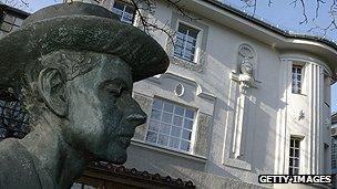 Statue of Bela Bartok