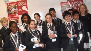 West London Free School pupils