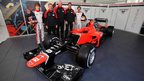 Marussia's MR01 car for the 2012 Formula 1 season