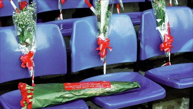 Flowers on football seats