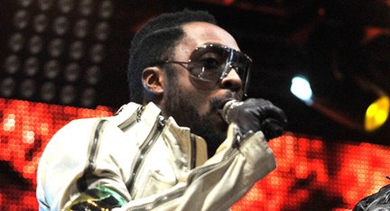 Will.I.Am performing at the BBC's Radio 1 Big Weekend.