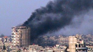 Homs under fire - march 2012