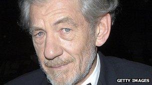 Sir Ian McKellen,