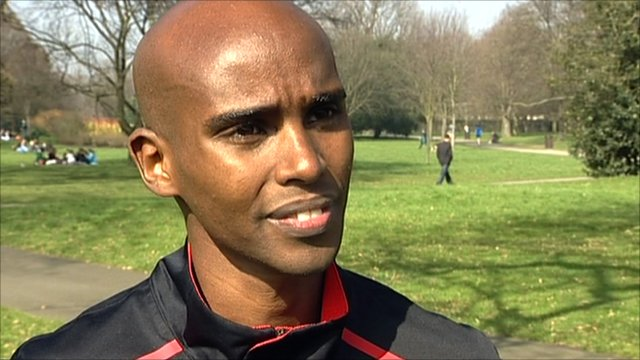 GB athlete Mo Farah