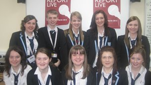 Bannockburn High School pupils