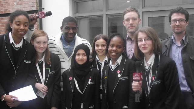 Hornsey School For Girls meet Labrinth