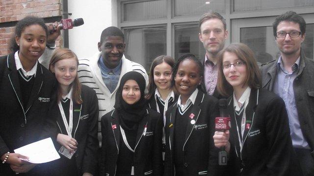 Hornsey School For Girls meet Labrinth