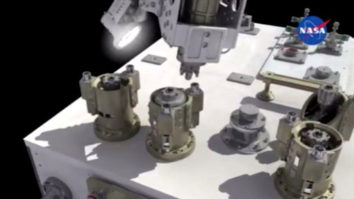 ISS robot Dextre