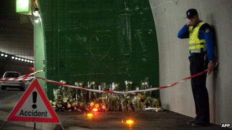 Relatives of the victims visited the crash site on Thursday